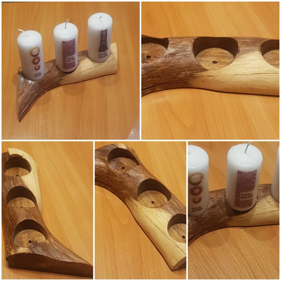 Ozolkoka svečturis  014030145250