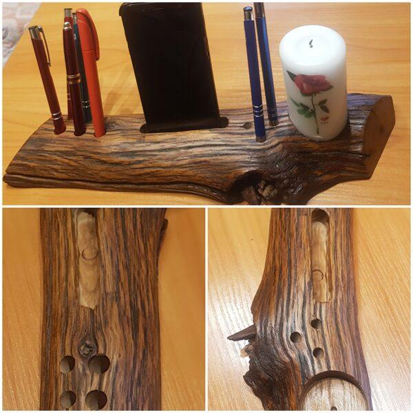 Tas ir unikāls svečturis/ telefonu / pildspalvu / zīmuļu turētājs 016025350105